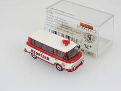 Brekina 30033 Barkas B 100 Bus Circus Berolina Paradewagen OVP