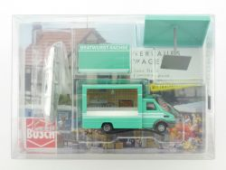 Busch 5422 Iveco Daily Bratwurst Sachse Imbiss Beleuchtung OVP