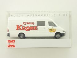 Busch 47832 Mercedes MB Sprinter Bus Circus Krone Van 1:87 OVP ST