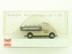 Busch 40910 DKW 3=6 Pritschenwagen Spirituosen Albert OVP