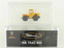 Brekina 13707 Starmada Mercedes MB Trac Traktor 800 DBP Post OVP