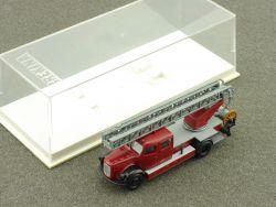 Brekina 4032 Mercedes LF 311 DL 25 Feuerwehr Drehleiter Metz OVP OVP
