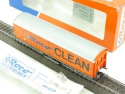 Roco 46400 Schienenreinigungswagen AC Hbis Clean SBB KKK  OVP