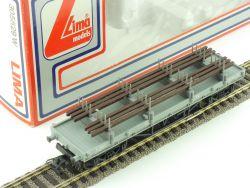 Lima 305629 W Güterwagen Ladegut Schienen 70897 DC H0 NEU OVP