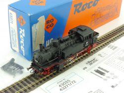 Roco 43271 Dampflok BR 74 904 DC DB sehr gut Licht nur vorne OVP