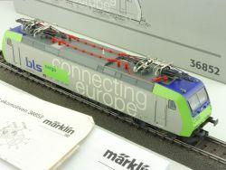 Märklin 36852 Elektro-Lok Re 485 005-3 Cargo BLS SBB Digital OVP