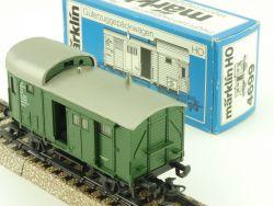 Märklin 4699 Güterzug-Gepäckwagen DB Pwg 120 440 H0 Karton  OVP