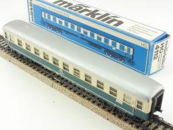 Märklin 4112 D-Zug Schnellzugwagen Büm 234 Blech Beleuchtung OVP