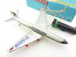Nomura Toys TN Japan Blech Electra-Turbo-Prop Flugzeug KLM OVP