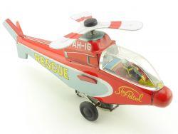 Japan Hubschrauber Helicopter Sky Patrol Blechspielzeug Tin