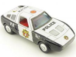 Yone Japan Mercedes MB C 111 Blechauto Polizei Police Dept.