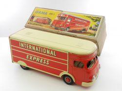Gama 291/1 Lastwagen International Express Blechspielzeug 2911 TOP! OVP ZZ