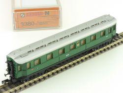 Arnold 3380 Schnellzug Personenwagen 18 947 DRG Spur N NEU! OVP