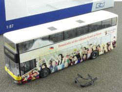 Rietze 67511 MAN DN 95 #200 Prenzlauer Berg Doppeldecker Bus OVP