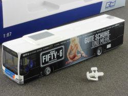 Rietze 66552 Stadtbus MB Citaro Euro4 Fifty 6 #121 Aktmodell OVP