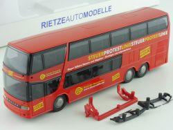 Rietze 60278 Setra S 328 DT Doppelstock Reisebus BdSt NEU! OVP