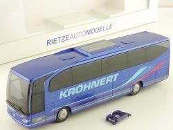 Rietze 63842 RM MB Travego Kröhnert Reisebus Hiddenhausen OVP