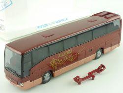Rietze MB O 404 RHD Allegro Ziegelmeier Bobingen Reisebus OVP