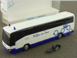 Rietze 62215 RM MB O 404 THW Technisches Hilfswerk Bus NRW OVP