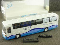 Rietze 60263 Reisebus MB O 303 15 RHD Deutsche Marine 1:87 OVP