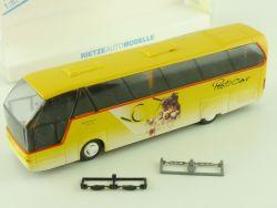 Rietze 62042 RM Neoplan Starliner N 516 SHD Postcar Bus 1:87 OVP