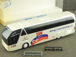 Rietze 40220 Neoplan Mannschaftsbus SpVgg Unterhaching selten OVP