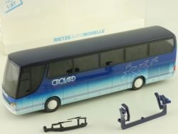 Rietze 64114 Setra S 315 GT Reisebus Crolard Voyages Annecy OVP