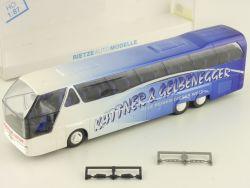 Rietze 64526 Neoplan Starliner Kattner Gelbenegger Bus Reise OVP
