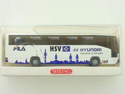 Wiking 7141244 MB O 404 Fussball HSV Mannschaftsbus 1:87 NEU OVP
