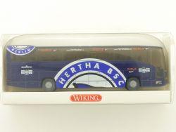 Wiking 7141546 MB O 404 Hertha BSC Berlin Mannschaftsbus NEU OVP