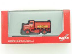 Herpa 156448 MAN 750 L Zugmaschine Circus Krone CK 1:87 NEU! OVP