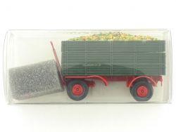Brekina 55232 2a Anhänger für Traktor Äpfel Landwirtschaft OVP ST