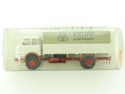 Brekina 84100 Krupp S 960 Lastwagen Pritsche Plane 1:87 NEU OVP