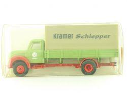 Brekina 42205 Magirus S4500 Kramer Schlepper Pritsche selten OVP
