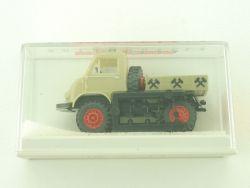 Brekina 39054 MB Unimog 402 Unimog Kohlehändler Pritsche NEU OVP