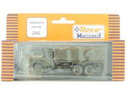 Roco 246 Minitanks Magirus Deutz Jupiter Militär Pritsche H0 OVP