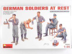 MiniArt 35062 Deutsche Soldaten bei der Rast WW2 MIB OVP