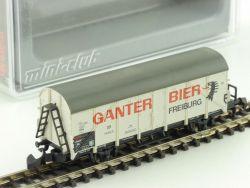 Märklin 80314 mini-club Ganter Bier Insider Jahreswagen 2004 OVP