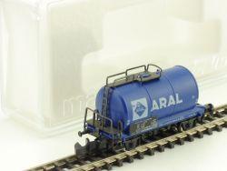 Märklin 8613 mini-club Aral 072 4 418-7 Benzin altes Emblem OVP