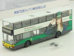 Rietze 67504 MAN Doppeldecker Bus Möbel Hübner DN 95 BVG  OVP