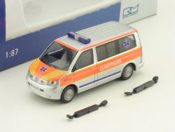 Rietze 51661 VW T5 KR Clinotrans Krankentransporter Einsatz OVP