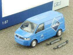 Rietze 31611 VW T5 GP KR Kleintransporter Kastenwagen ARAL OVP