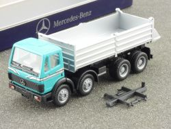 Mercedes B 6 600 0009 Herpa MB 3538 Kipper SK Werbemodell OVP