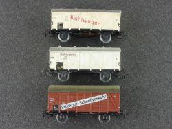 Schnäppchen! Märklin Konvolut 3x Güterwagen Kühlwagen älter
