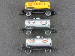 Schnäppchen! Märklin Konvolut 3x Kesselwagen Tankwagen Esso