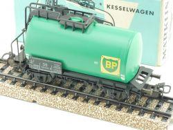 Märklin 4644 Kesselwagen BP Güterwagen Petroleum 1967 DB OVP