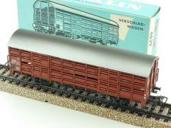 Märklin 4629 Vieh-Verschlagwagen Vlmms 63 Tiertransport 1966 OVP