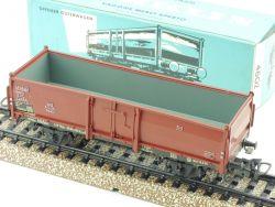 Märklin 4602 Offener Güterwagen Omm 52 DB 800 1965 Sehr Gut! OVP
