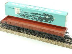 Märklin 4514 Vierachsiger Niederbordwagen Güterwagen DB AC OVP