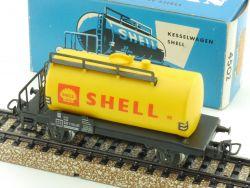 Märklin 4502.8 Kesselwagen Shell Güterwagen DB 1971 AC TOP! OVP